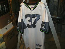 Seattle Seahawks #37 White Jersey