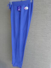 NWT JUST MY SIZE FRENCH TERRY JERSEY KNIT PANTS WITH POCKETS 4X Iris