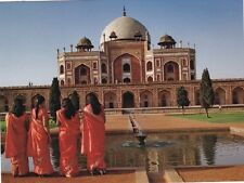 "~Post Card~""4 Girls from India & The Humayun's Tomb in Delhi""   ..Classic-"