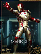 "Sideshow Hot Toys 1/6 Scale 12"" Marvel Iron Man 3 Mark XLII Figure 902017 PPS001"