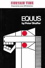 "Anthony Hopkins ""EQUUS"" Peter Shaffer / Marian Seldes 1975 Book Club Flyer"