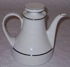 Scherzer Porzellan mit Silberband /Silberrand Kaffekanne