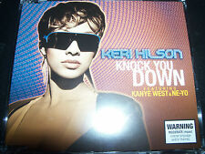 Keri Hilson Knock You Down Feat Kanye West & Ne-yo Aust CD Single – Like New