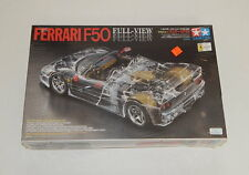 Tamiya 223 Ferrari F50 Full-View 1/24 Scale Plastic Model Kit SEALED R12078