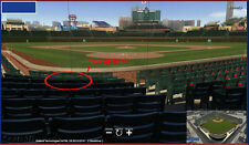 2016 CHICAGO CUBS (2) Tickets Dugout Box Section 22 Row C - Single Game