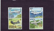 PITCAIRN ISL - SG348-351 MNH 1989 AIRCRAFT