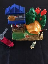 Fisher-Price Rescue Heroes Fire Down Under Micro Adventures Toy