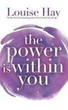 The Power is Within You by Louise L. Hay Paperback Book (English) 1999 copy
