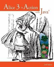 Alice 3 in Action with Java(TM), Adams, Joel, Acceptable Book