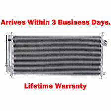 New Condenser For Honda Fit 2009 2010 2011 2012 2013 1.5 L4 Lifetime Warranty