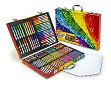 Child Crayola Case Set Art Tool Crayon Colored Pencil Washable Marker Paper Kit