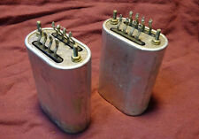 Pair Vintage Western Electric Transformer Rep 120C 9 V 55 No Reserve