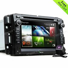 "Camera+ 7"" Car DVD Player Radio Stereo GPS Navigation E for Chevrolet GMC Buick"