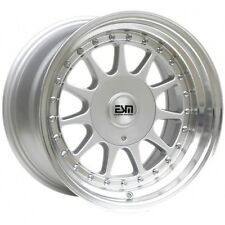 "16x8 16x9 Silver 16"" ESM-003R Wheels  5x112 VW Audi Mercedes Golf Jetta"