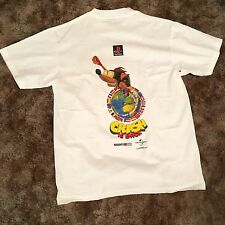 Vintage Crash Bandicoot 2 Dead stock Promo PlayStation T Shirt Size Large