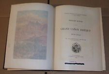 Tertiary History of the Grand Canyon Monograph US Geological Survey Dutton 1882
