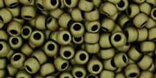 TOHO Seed Bead Round 8/0  Matte-Color Dark Olive