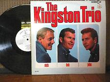 THE KINGSTON TRIO- DL 4613- DECCA RECORDS- RARE PROMO- VG+