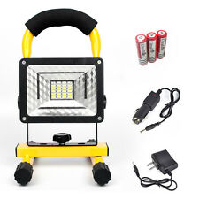 24LED 30W LED Flood Light  Waterproof IPX6 Outdoor Rechargeable Spotlight KIT