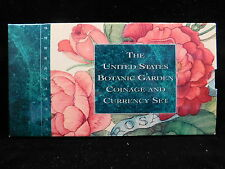 UNITED STATES ISSUE 1997 BOTANIC GARDENS COIN AND CURRENCY SET