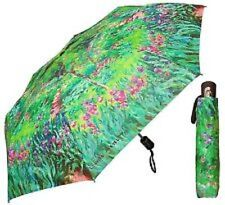 Galleria Monet Japanese Bridge Womens Lady Sun Parasol Rain Compact Umbrella