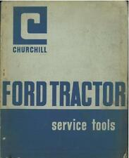 FORD TRACTOR SERVICE TOOLS MANUAL - SUPER, DEXTA, MAJOR, 2000 3000 4000 5000