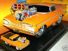 59 EL CAMINO ORANGE  FROM A BUILD KIT.MUS.MAC.1:18 MIB