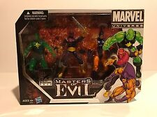 SDCC 2012 COMIC CON EXCLUSIVE BOX SET MASTER OF EVIL MARVEL UNIVERSE NIB