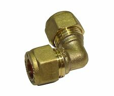 8mm Compression Elbow | Brass Plumbing Fittting