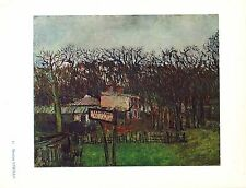 Maurice Utrillo,Bal A La Butte Pins,Offs.Lithograph1942,Plate Nr.17.Plate-signed
