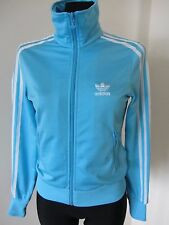 ADIDAS Women FULL ZIP Jumper Tracksuit Top Size 34 *stains*