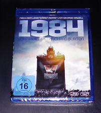 1984 MIT JOHN HURT / RICHARD BURTON BLU RAY SCHNELLER VERSAND NEU & OVP
