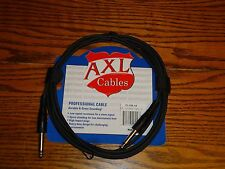 1 NEW 20' GUITAR BASS CABLE INSTRUMENT PATCH CORD KEYBOURD EFFECTS PEDALS