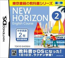 Used Nintendo DS New Horizon English Course DS 2 Japan Import (Free Shipping)