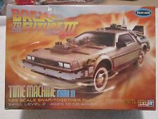 POLAR LIGHTS BACK TO THE FUTURE TIME MACHINE MARK III 1/25 SNAP IT KIT