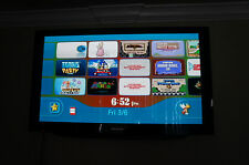 WII CONSOLE ONLY WITH DOWNLOADED GAMES ON IT & CUSTOM MARIO THEME
