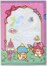 Sanrio Little Twin Stars Starry Night A5 Mini Plastic File Folder #2