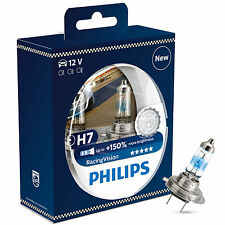 Philips Racing Vision RacingVision H7 Headlight Bulbs (Twin) 12972RVS2