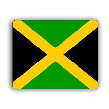 Jamaica Flag Computer Mouse Mat Pad Desktop PC Laptop