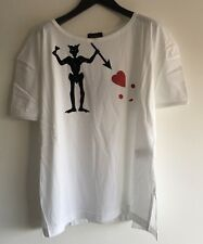 VIVIENNE WESTWOOD ANGLOMANIA WHITE TOP TEE SHIRT SIZE XXL RRP £180