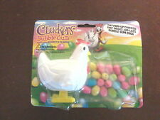 Cluckers wind-up walking bubble gum egg laying plastic chicken