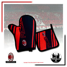 A.C. MILAN | Set barbeque, presina + guanto forno - Pot holder + oven mitt