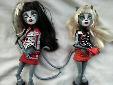 Muñecas Monster High Meowlody Y Purrsephone