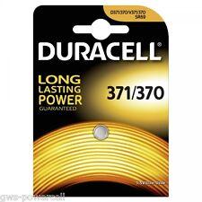 2 x Duracell 371 / 370 SR920SW SR920W V371 UHREN BATTERIE 635706 BATTERY AG6