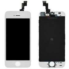 OEM Original White Digitizer LCD Screen Assembly for iPhone 5S Replacement TEXAS