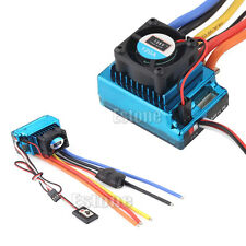 Hot 120A ESC Sensored Speed Brushless Controller For 1/8 1/10 Car/Truck Crawler