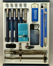 Staedtler Mars Techniset - Vintage, New, 4 Pens, Compass, 780 Lead Holder