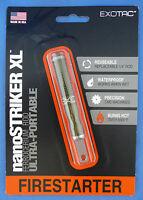 Exotac NanoStriker XL Fire Starter Ferrocerium Rod Nano Striker XL OD Green