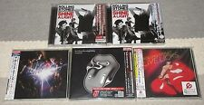 All SEALED PROMO issue! ROLLING STONES Japan 5 x CD titles (9 disc) JOB LOT set!