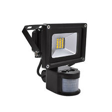 20W Warm White SMD LED with PIR motion floodlight floodlights spotlights IP65
